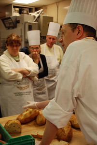 Artisan bread class at the Culinary Institute of America, Hyde Park, New York