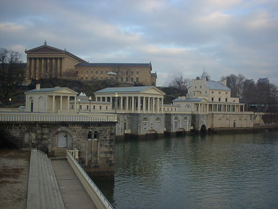 Philadelphia Museum of Art, Water Works and Schuykill River