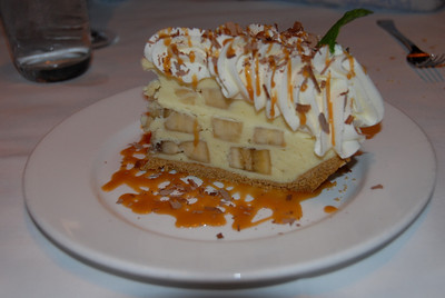 Banana cream pie at Emeril's New Orleans Fish House