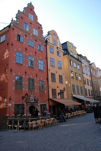 18th century buildings of Gamla Stan, Stockholm