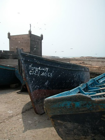 Near the port in Essaouira