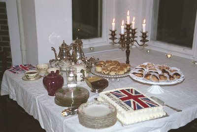 Best of Britain dessert table