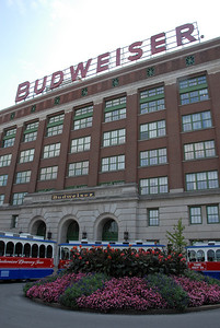 At the Anheuser-Busch Brewery