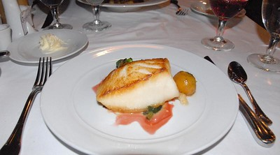Succulent sea bass
