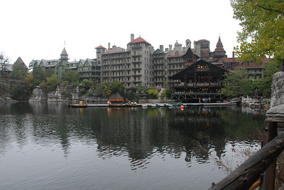 Mohonk on a misty morning