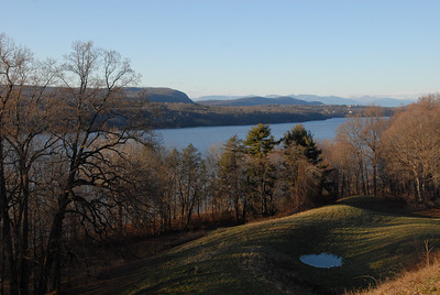Hudson River as seen from Vanderbilt Mansion, Hyde Park