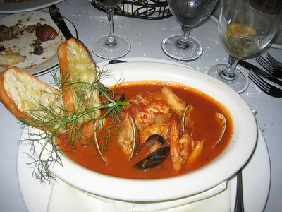 Cioppino at Irene's
