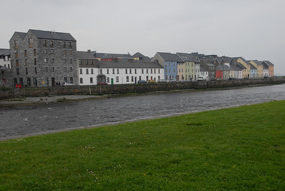 Galway with part of the Spanish arch to the far left